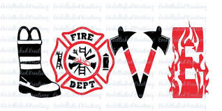 Firefighter Fire And Rescue Fire Wife Love Firefighter Vinyl Decal Car Decal Tumbler By Embellishedkreationz Firefighter Decals Firefighter Firefighter Love