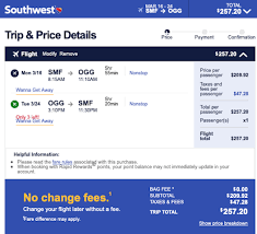 southwest flights to hawaii from 99