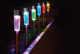 colour changing garden solar lights