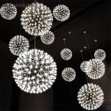 sphere pendant light hanging chandelier