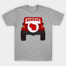wisconsin badger jeep gifts wisconsin