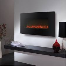 electric led wall mounted fire aurora