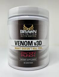 venom v3d brawn nutrition us booster