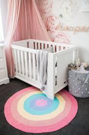 Rainbow Baby Round Rug Beautifully Thick And Soft Nursery Etsy