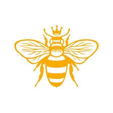 Queen Bee Vinyl Decal Queen Bee Decal Queen Bee Sticker Bee Etsy