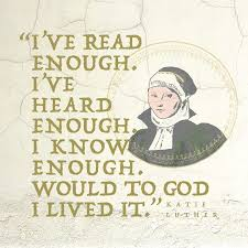katie luther quote canvas print oldlutheran