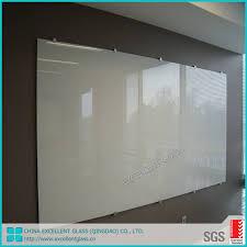 glass whiteboard glass markerboard back
