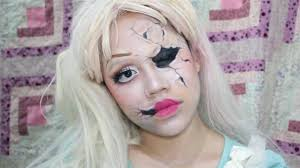 porcelain doll makeup look saubhaya