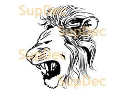 Product Lion Vinyl Art Wall Window Bathroom Sticker Decal Removable 3