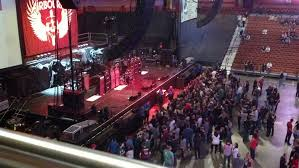 section 105 at mohegan sun arena for