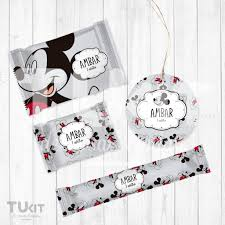 Kit Imprimible Mickey Mouse Candy Bar Cumpleanos