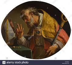 Gaetano Gandolfi SAN MATTEO DELLA DECIMA NEAR BOLOGNA 1734 - 1802 BOLOGNA  SAINT LIBORIUS.jpg - RFNM6E Stock Photo: 233431478 - Alamy