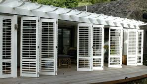 bifold shutters on porch shutters