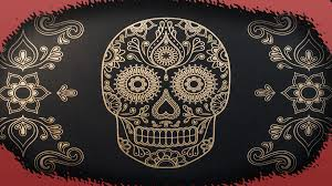 mexican skull wallpapers wallpaper cave
