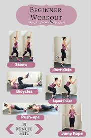 beginner cardio workout bites of wellness