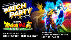 Christopher Sabat Joining Quarantine Watch Party For Dragon Ball ...