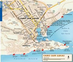 Cabo San Lucas tourist map