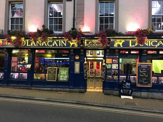 Lanigan Bar one of the popular stag friendly pubs and bars in Kilkenny