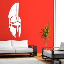Spartan Helmets Wall Art Sticker Vinyl Wall Decal Bedroom Or Living Room Decor Art Diy Love Wall Stickers Make Your Own Wall Decals From Langru1002 7 74 Dhgate Com