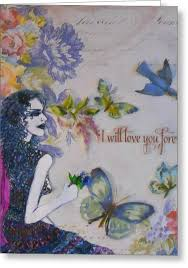 I Will Love You Forever Drawing by Dolly Smith
