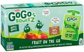 gogo squeez apple apple 12 pack apple
