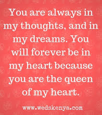 you are the queen of my heart poem