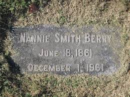 Nannie Smith Berry (1861-1961) - Find A Grave Memorial