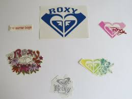 Roxy Surf Quiksilver Wave Beach Car Decal Sticker Window Lot Culture Clothing Ebay