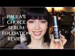 anti aging serum foundation review