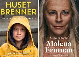 Omstridd lansering av Greta Thunberg-bok i Norge | Svensk Bokhandel