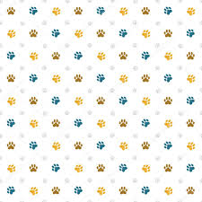 vector dog paw prints wallpaper paw