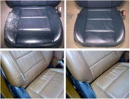 how to repair split leather car seats