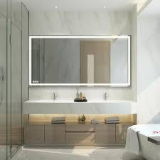 bathroom mirror frameless image of