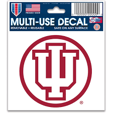 Indiana University Car Decals Decal Sets Indiana Hoosiers Car Decal Www Indianauniversitystore Com