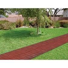 emsco patio pavers deep red brick