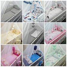 3 piece nursery cot baby bedding set