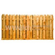 Picket Fencing Panel Double Sided Fencing