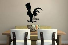 Moana The Chicken Lives Wall Decal Sticker 10 W X 12 H Lucky Girl Decals