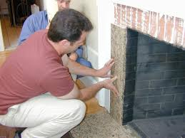 reface a fireplace with stone veneer