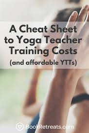 yoga teacher costs