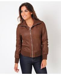 womens faux leather and biker jackets