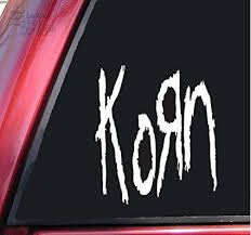 Shadowmajik Korn Vinyl Decal Sticker 4 X 3 5 White Amazon In Car Motorbike