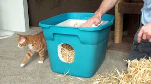 how to make a feral cat shelter you