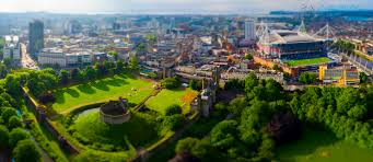 Aerial Filming in Cardiff Castle – Aerial Photography Wales ...