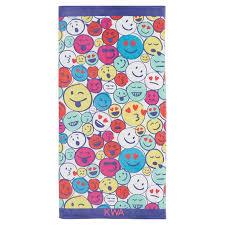 Emoji Teen Beach Towel Pottery Barn Teen