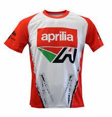tops aprilia t shirt shiver rsv4