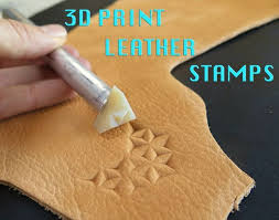 leather stamps 3d printing