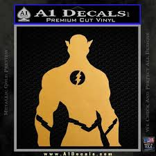 The Flash Silhouette Vinyl Decal Sticker A1 Decals