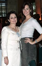 Kate Fischer and mother Pru Goward reunited
