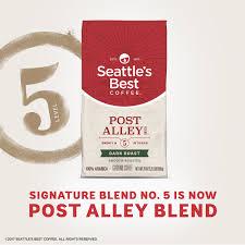 seattles best coffee post alley blend
